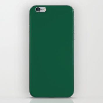 Teal The World (Green) iPhone & iPod Skin by Moonshine Paradise