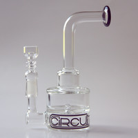 """Grav Labs 7"""" Circuit Two-Layer Dab Rig - Clear"""