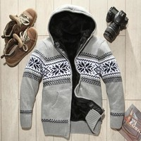 Thicken Sweater Men's Fashion Hats Men Jacket [10669403715]