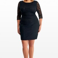 Plus Size Leona Lace Bodycon Dress | Fashion To Figure
