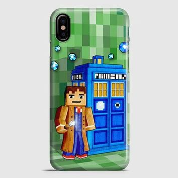 Tardis Doctor Who Little Prince iPhone X Case