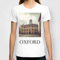 Oxford: Sheldonian Theater T-shirt by Architect´s Eye | Society6