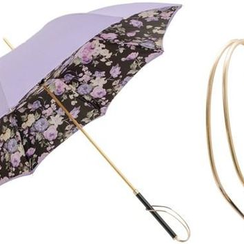 Pasotti Lilac Flowers Umbrella