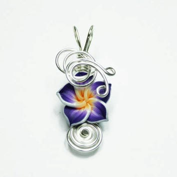 Made to Order - Aromatherapy Tropical Flower Perfume Pendant