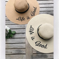 LIFE IS GOOD HAT- MORE COLORS