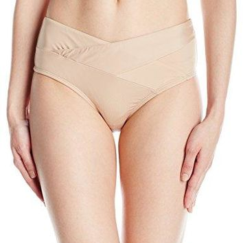 Kenneth Cole New York Womens Wrap Front Hipster Bikini Swimsuit Bottom
