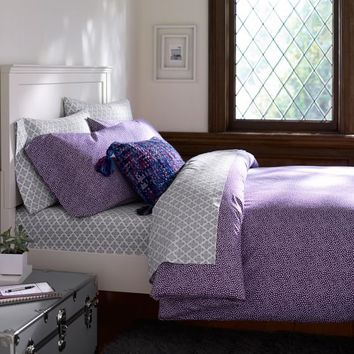MINI DOT DUVET COVER + SHAM