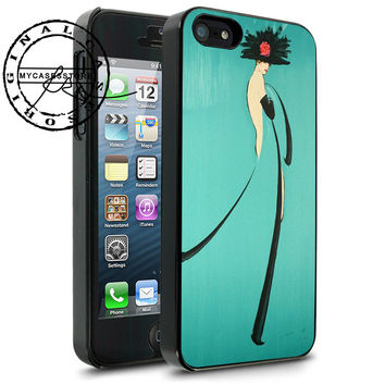 Rene Gruau Fashion Illustrator iPhone 4s iPhone 5 iPhone 5s iPhone 6 case, Samsung s3 Samsung s4 Samsung s5 note 3 note 4 case, Htc One Case