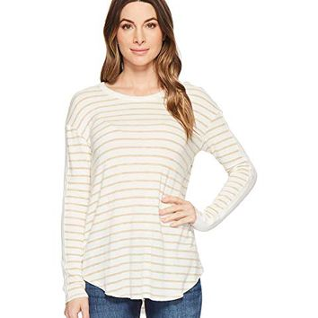 Michael Stars Super Soft Madison Long Sleeve Crew Neck