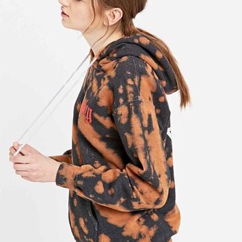 Obey Break of Dawn Tie-Dye Hoodie in Brown - Urban Outfitters