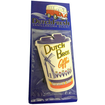 DutchFresh Air Freshener | Dutch Bros. Coffee - Dutch Wear