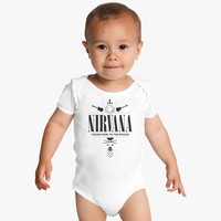 Nirvana Legend Band Baby Onesuits