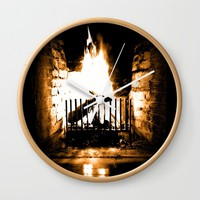 Warmth Wall Clock by Jessica Ivy