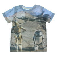 Star Wars Toddler Boys Crew Neck T-Shirt