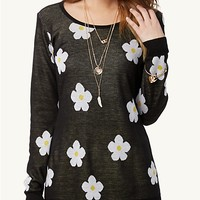 Daisy Knit Tunic Top
