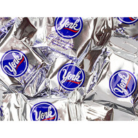 York Peppermint Patties Snack Size Packs: 25LB Case