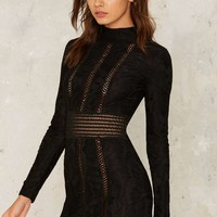 Rare London Axel Bodycon Dress