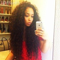 iOffer: Beautiful Curly Full Lace Front Wig 26 inches!! for sale
