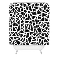 Nick Nelson Frenetic Shower Curtain