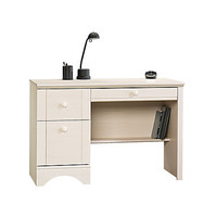Sauder Harbor View Wood Computer Desk 29 H x 43 12 W x 19 12 D Antiqued White by Office Depot & OfficeMax