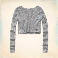 Fountain Valley Cropped Sweater