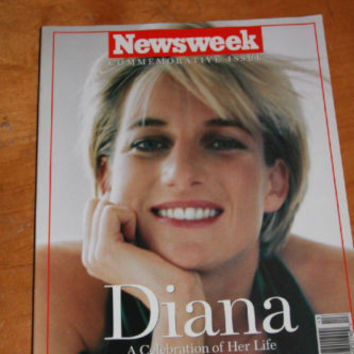 Newsweek Commemorative Issue Diana Nov 3 1997