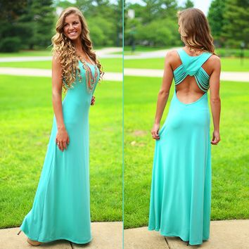 Simply Sweet Mint Maxi
