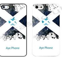 case,cover fits Aye iPhone models>Scottish Saltire,funny ,Scotland flag, phone