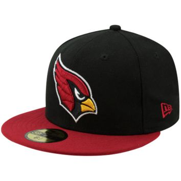 New Era Arizona Cardinals Two-Tone 59FIFTY Fitted Hat - Black/Cardinal