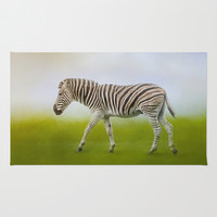 Journey of the Zebra Rug by Jai Johnson