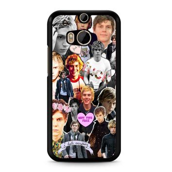 Evan Peters Collage 3 HTC M8 Case