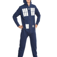Doctor Who TARDIS Union Suit