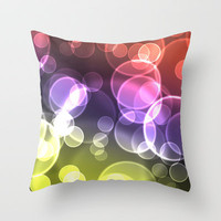 Dancing Ghosts Throw Pillow by Shipwreck Moon Designs