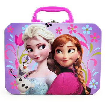 Disney Frozen Tin Lunch Box [Anna  Elsa and Olaf]