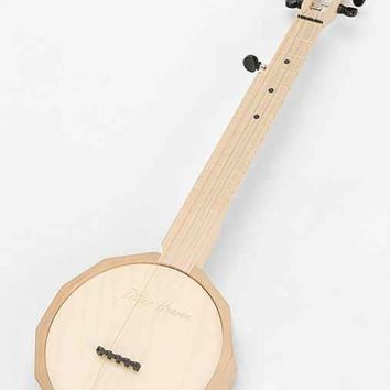 Wooden 5-String Banjo- Red One