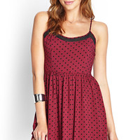 Polka Dot Cami Dress
