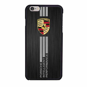 porsche aluminium brushed printedm iphone 6 6s 4 4s 5 5s 6 plus cases