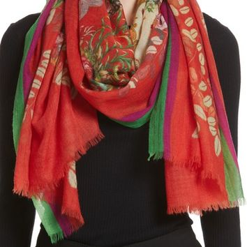 Etro Tree of Life Cashmere Scarf | Nordstrom