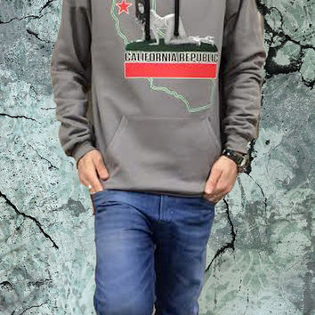 Grey California Republic Hoodie