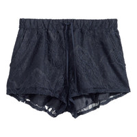 Lace shorts - from H&M