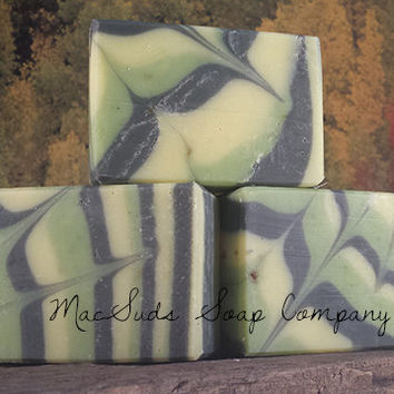 Jagermeister Natural Soap Moisturizing handcrafted - Jager What? handcrafted natural soap, anise seed, essential oil, activated charcoal