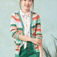 Fated to Feel Good Striped Cardigan