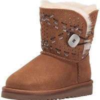 UGG Kids' T Bailey Button Tehuano Pull-On Boot