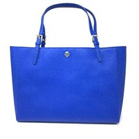 Tory Burch York Buckle Tote in Jelly Blue