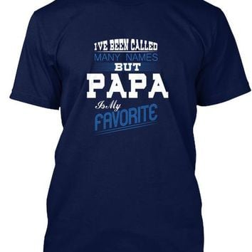 Papa Is My Favorite T Shirt   Me Shirt 1