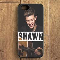 Shawn Mendes Playing Guitar iPhone 5 Case