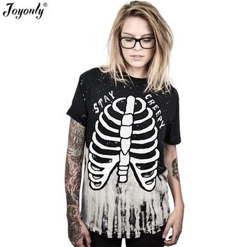 3D T shirt Punk Skeleton Skull Printed style Casual Clothing Tops