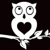 Owl Heart Tree Sticker Decal Vinyl Love Window Car Truck SUV Van Ford Chevy BMW