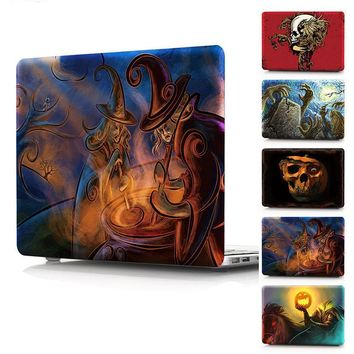 """Case For Macbook Air 11 13 new 12 inch Cover Skull Print Plastic Hard Case For MacBook Pro 13 15 Touch bar Retina 13"""""""