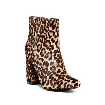 Charles by Charles David Women's Leopard Studio Genuine Calf Hair Boots/Booties